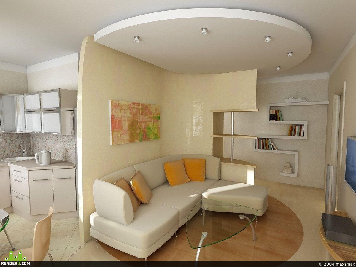 preview небольшая квартира
