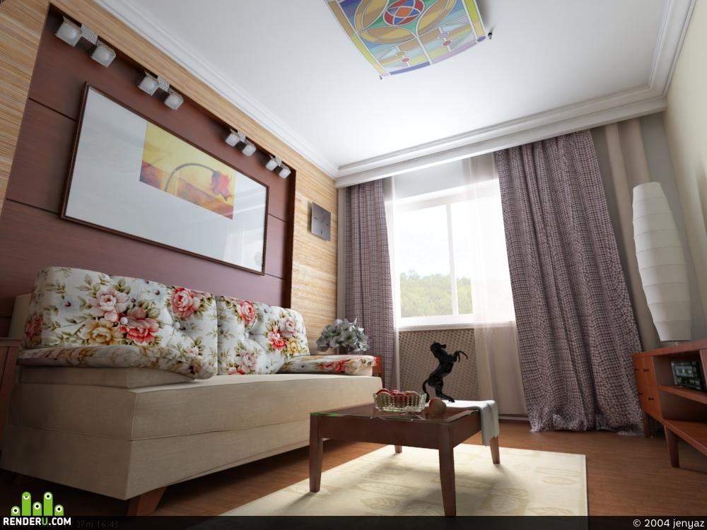 preview комната с диванчиком