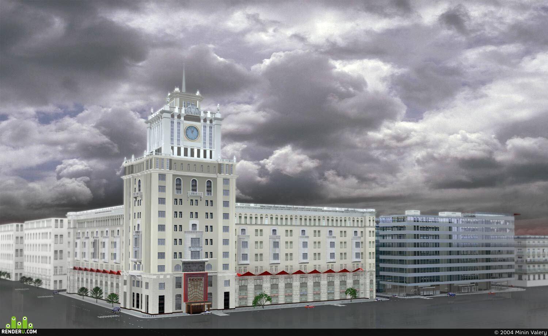 preview Проект гостиницы Пекин