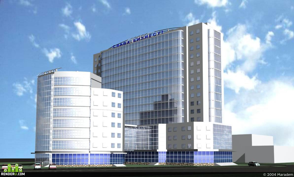 preview Жилой дом со встроенными административными помещениями и торговым центром