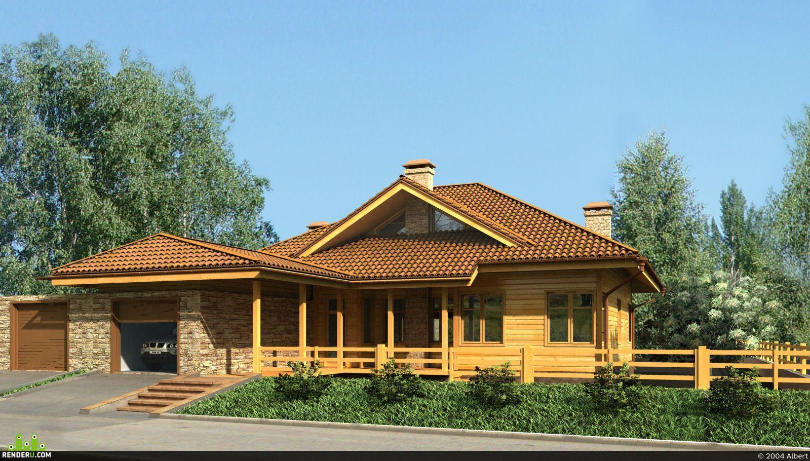 preview Каркасный дом
