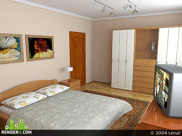 preview Спальня №3 в коттедже