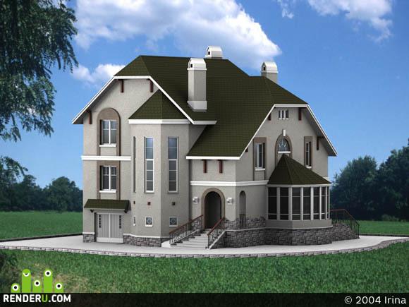 preview Загородный домик... 1