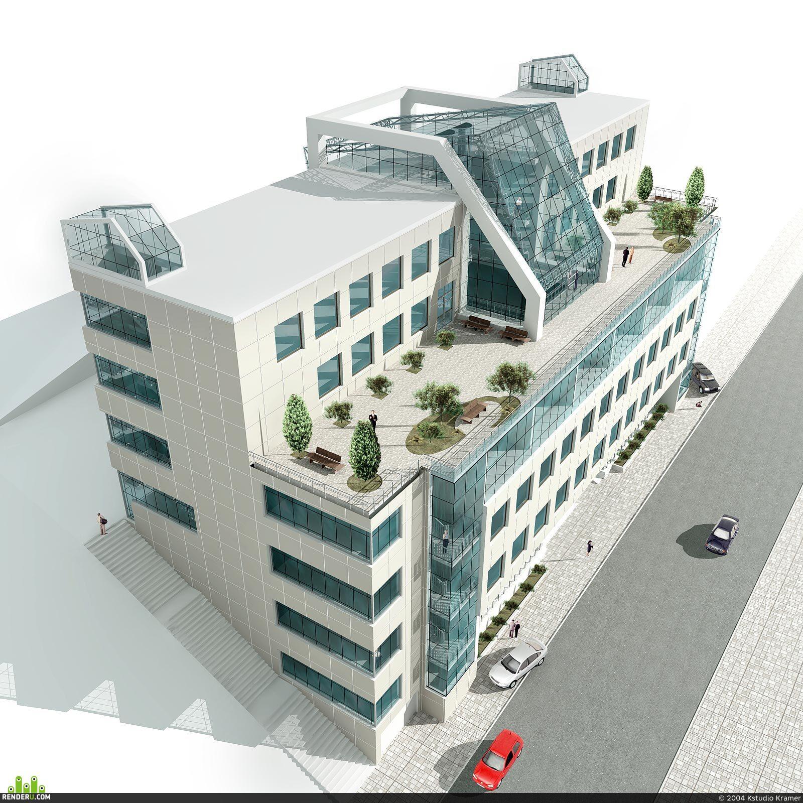 preview Проект офисного здания