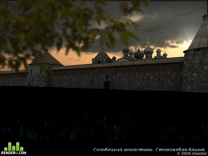 preview Соловецкий монастырь