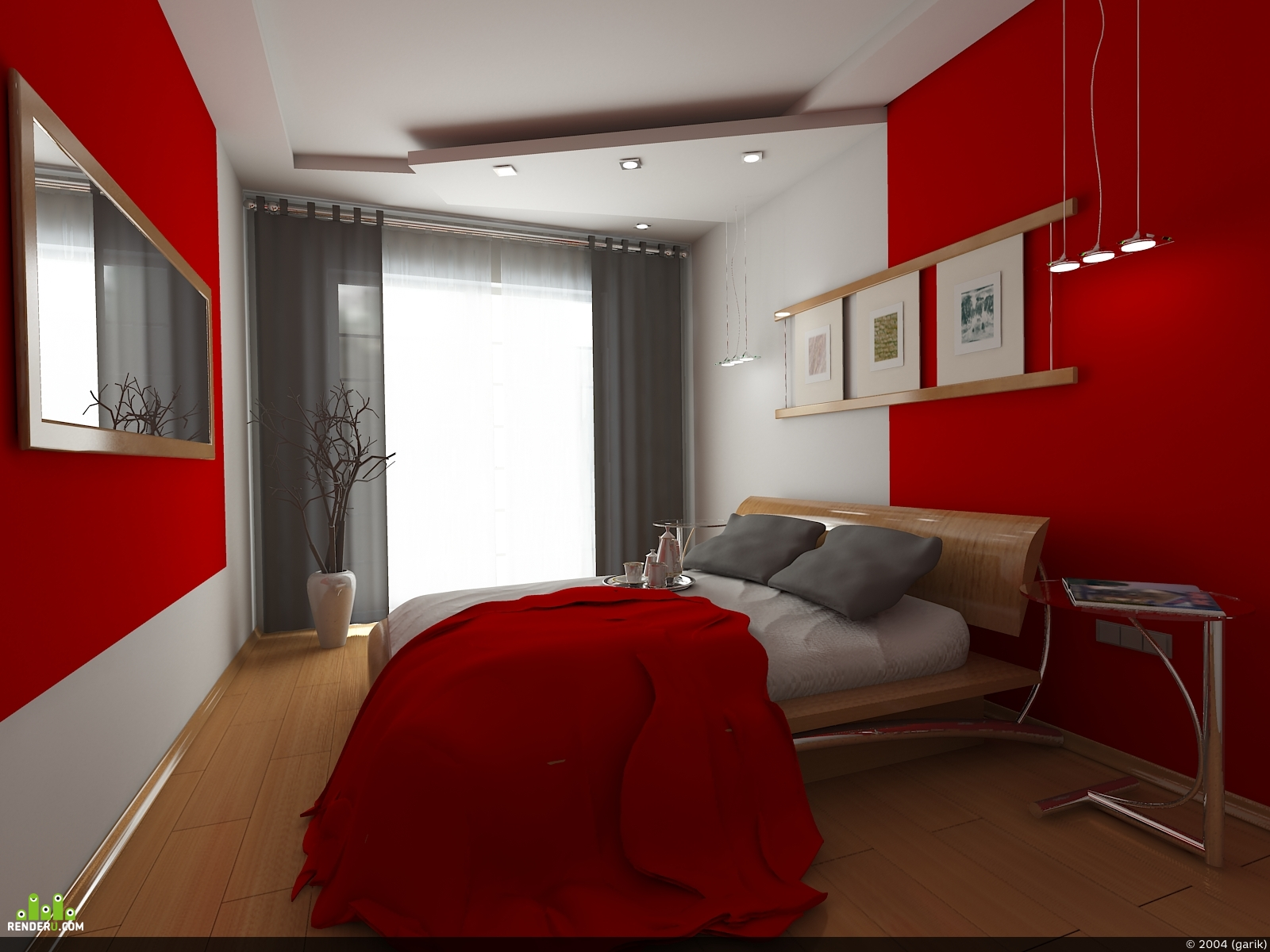 preview Завтрак в красной спальне