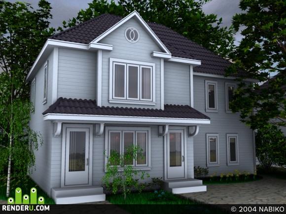 preview Загородный домик