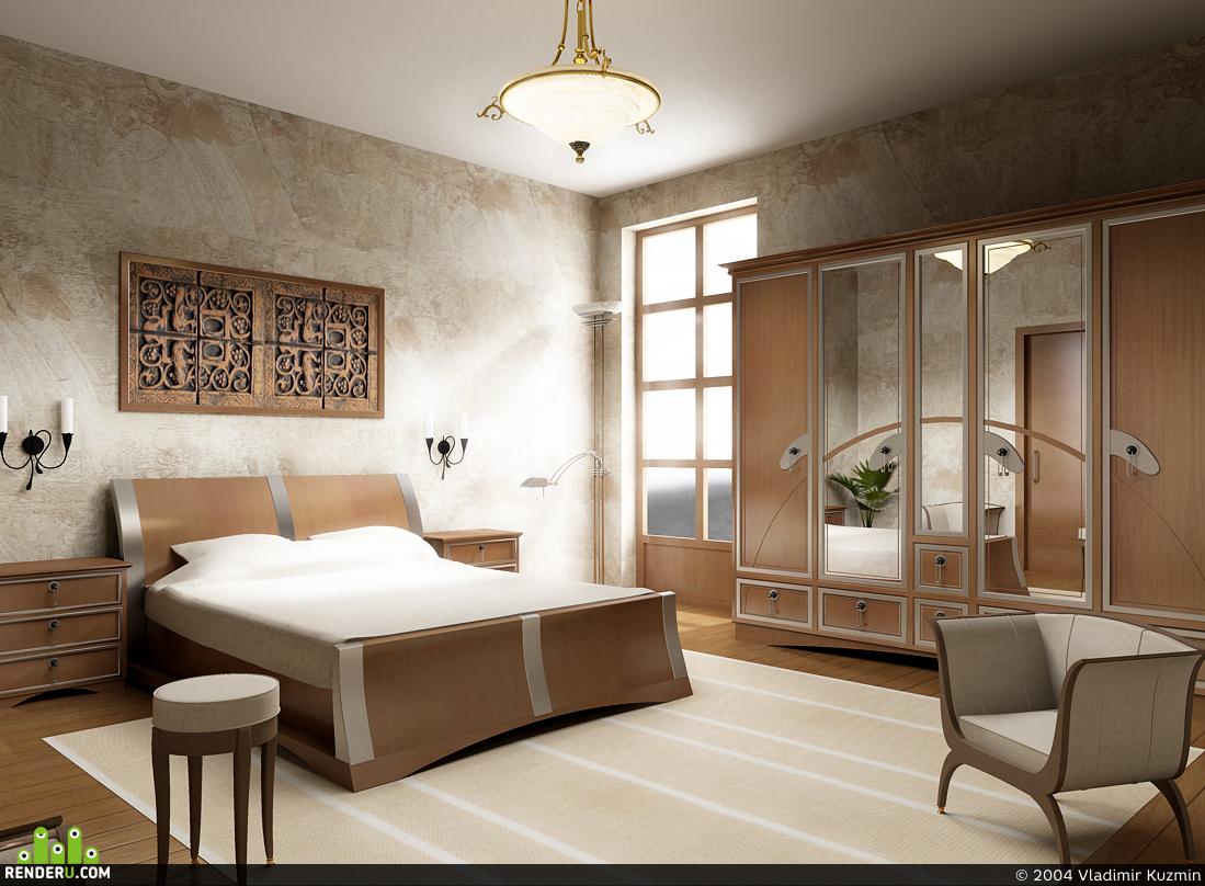 preview Немного другая спальня