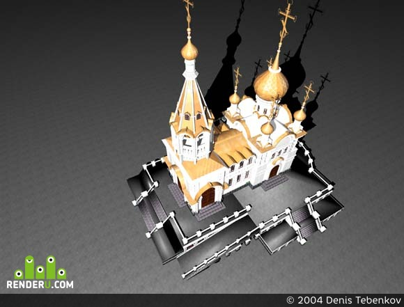 preview Церковь в м-н Заречном, г. Екатеринбург, эск. проэкт