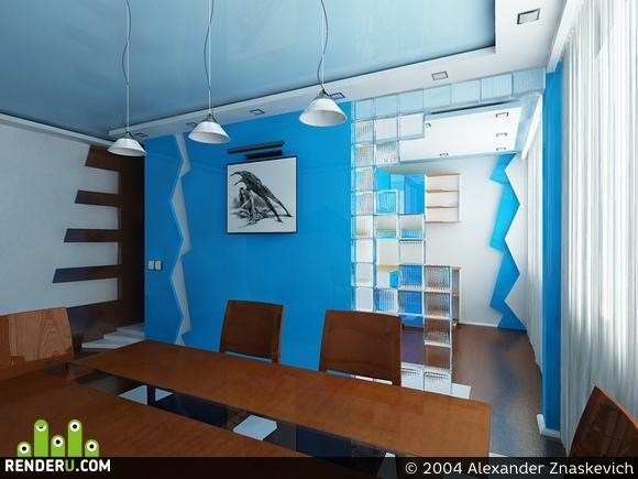 preview Синяя квартира