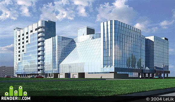 preview Гостинично-деловой центр