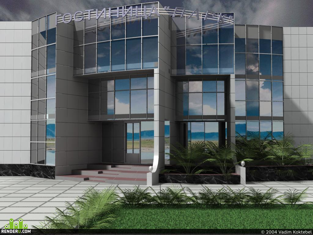 preview Гостиница (в проекте)