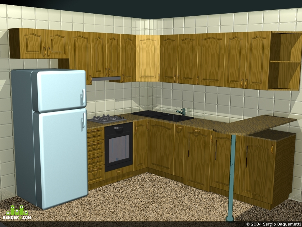 preview Очередная кухня