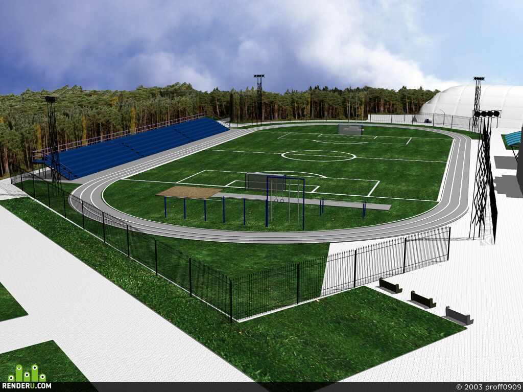 preview стадион в парке