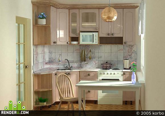 preview Кухня в хрущёвке