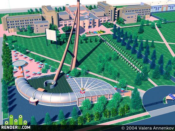 preview Молодежный комплекс при аграрном университете