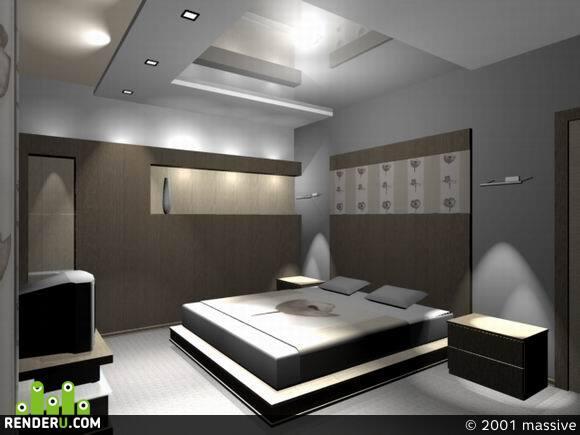 preview просто спальня
