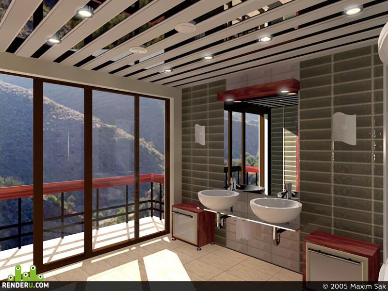 preview Ванная в отеле в горах на юге Испании.
