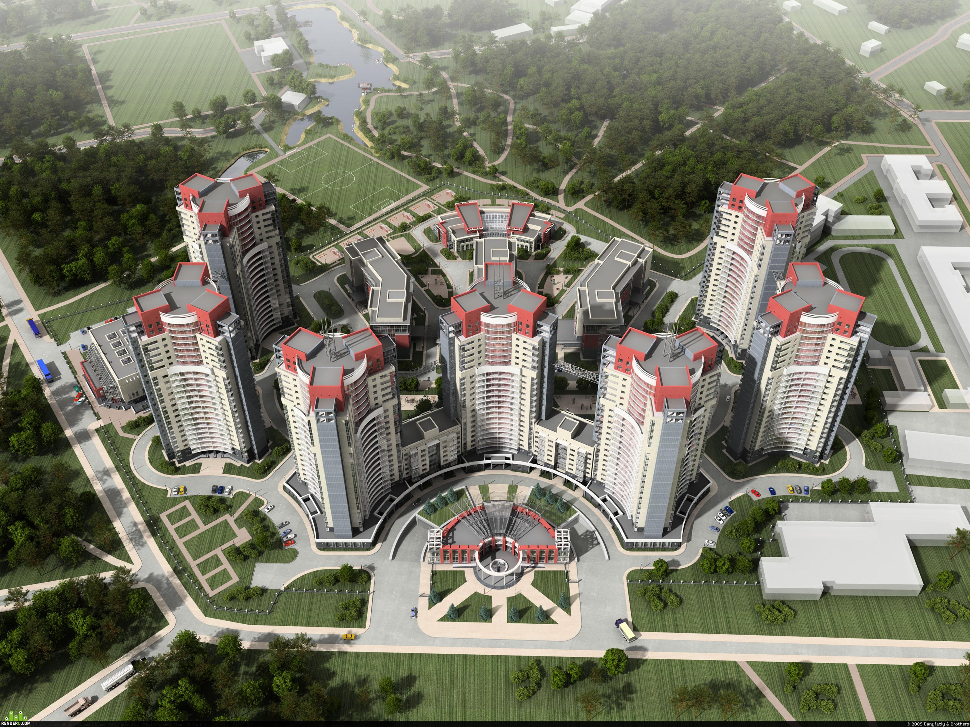 preview Дополнительные виды жилого комплекса