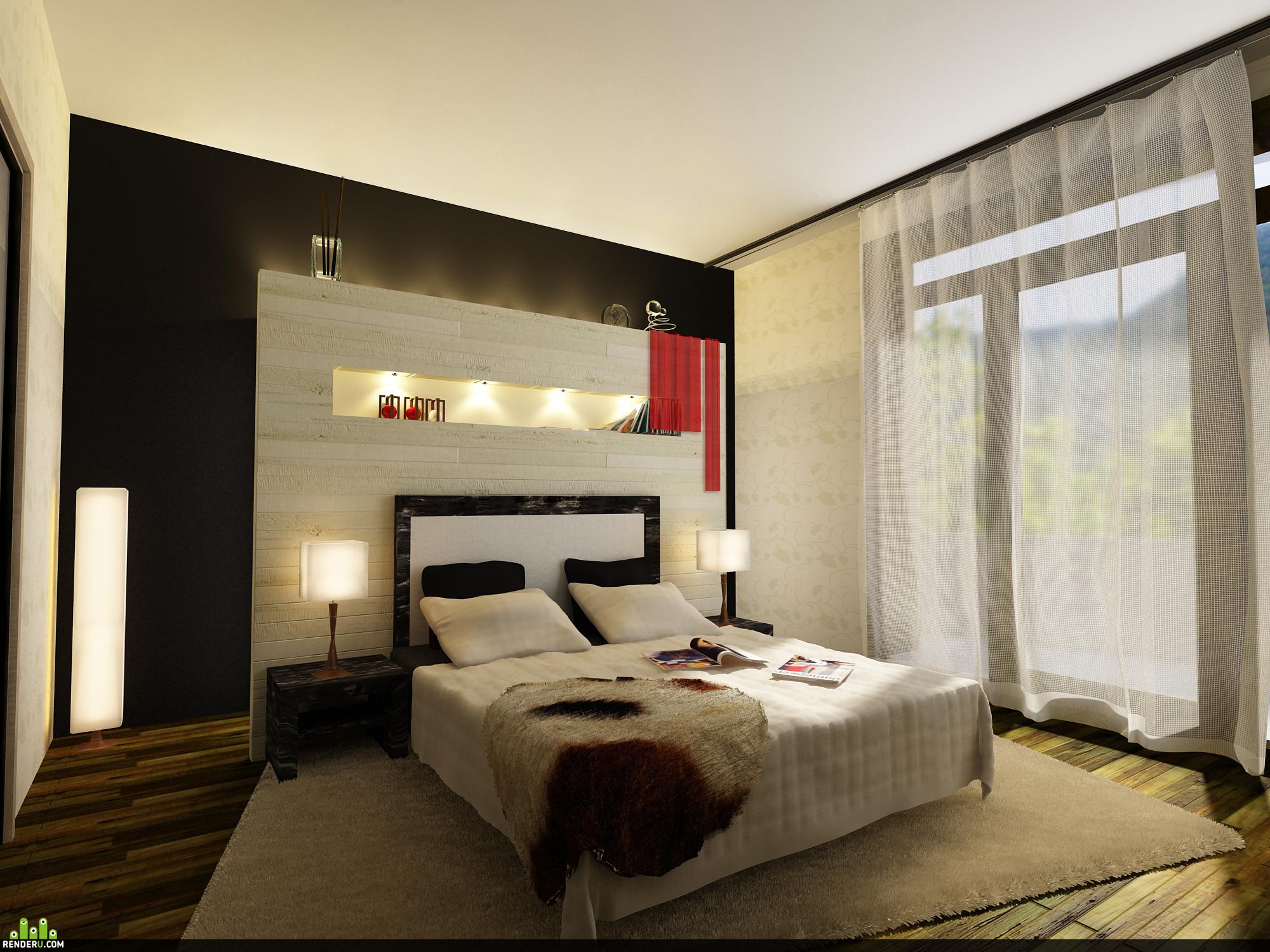 preview Теплая спальня