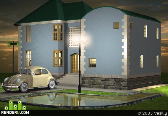 preview домик в деревне