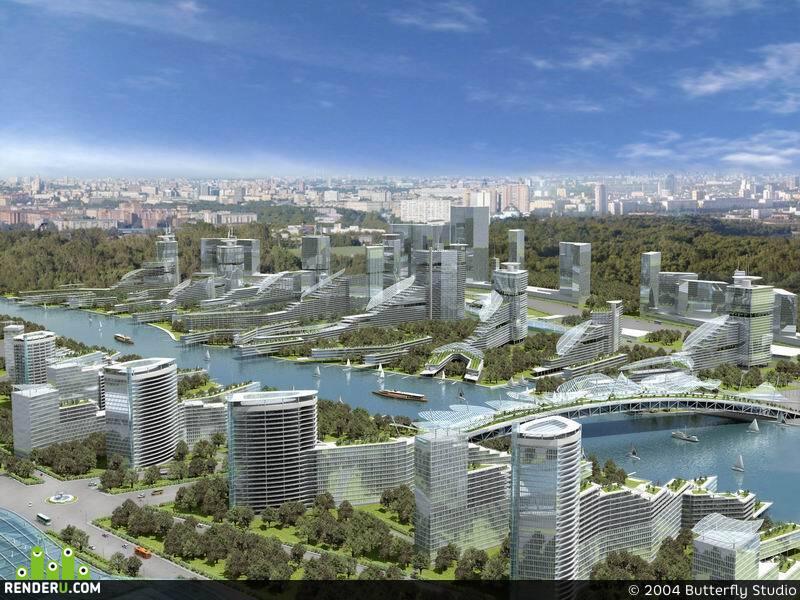 preview Олимпийская деревня 2012