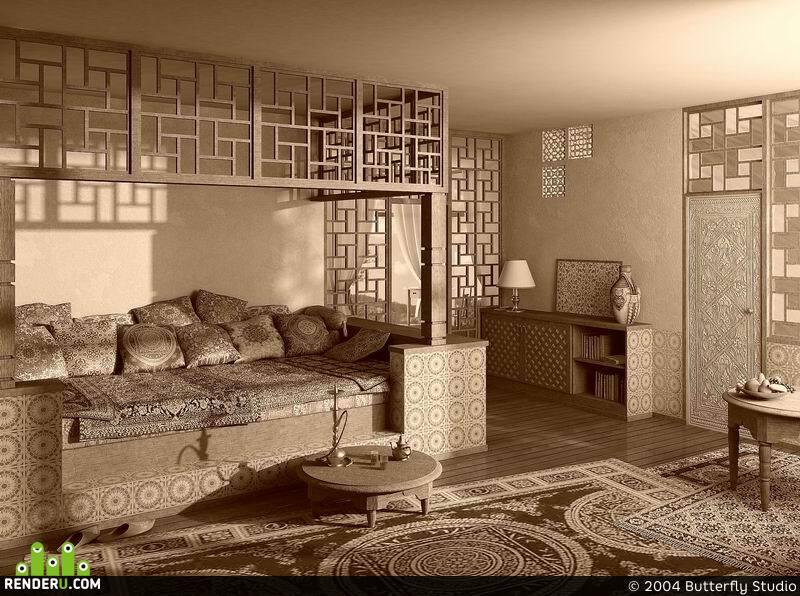 preview Комната в марроканском стиле