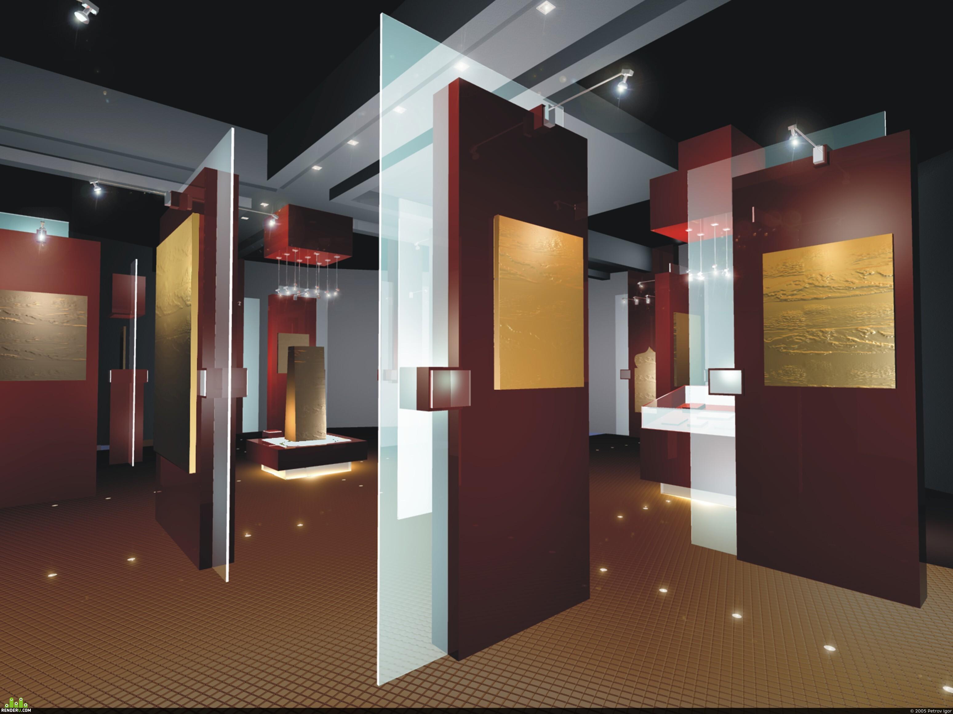 preview интерьер музея в Ханты-Мансийске
