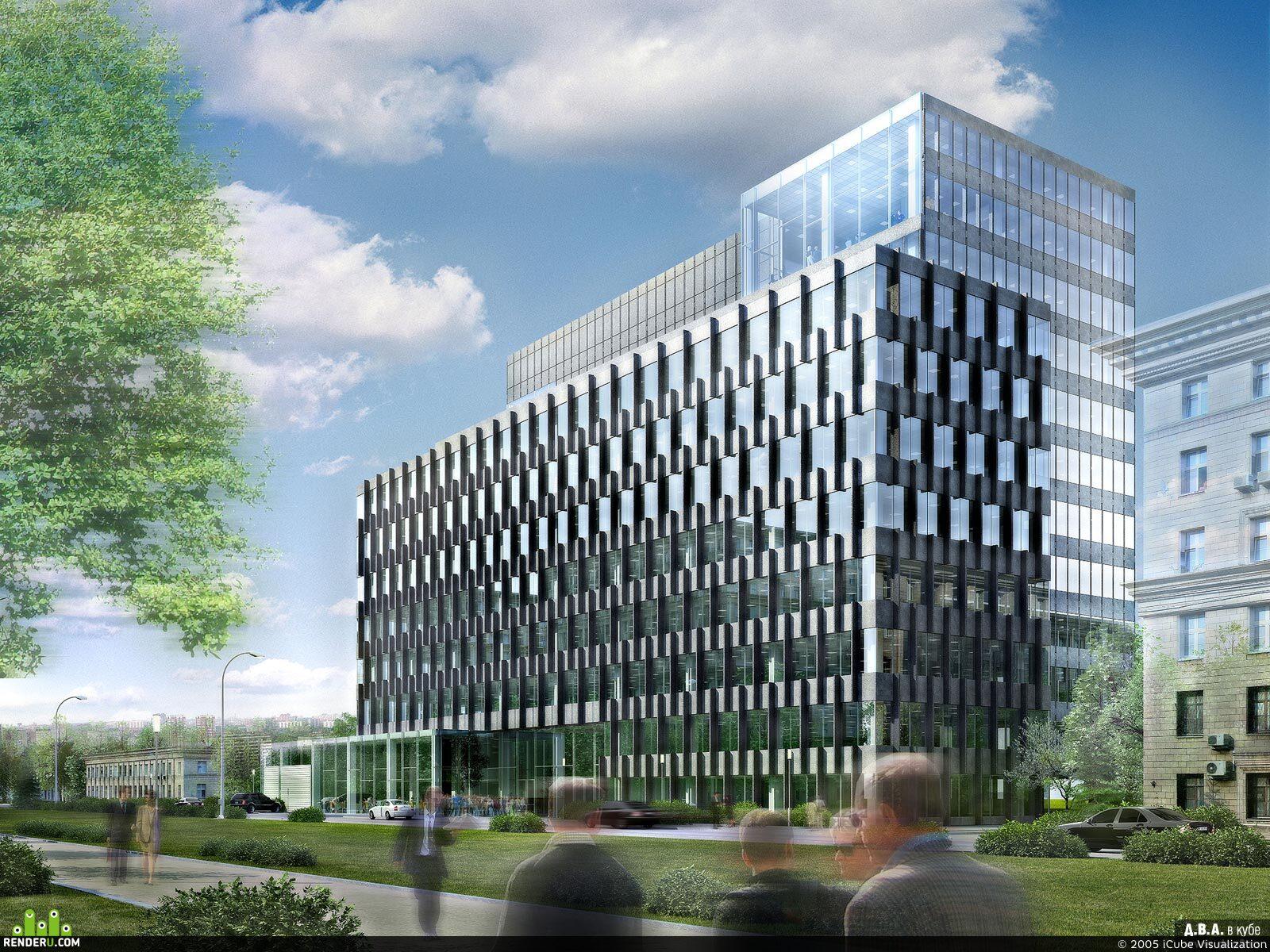 preview Офисное здание на ул. Макеева