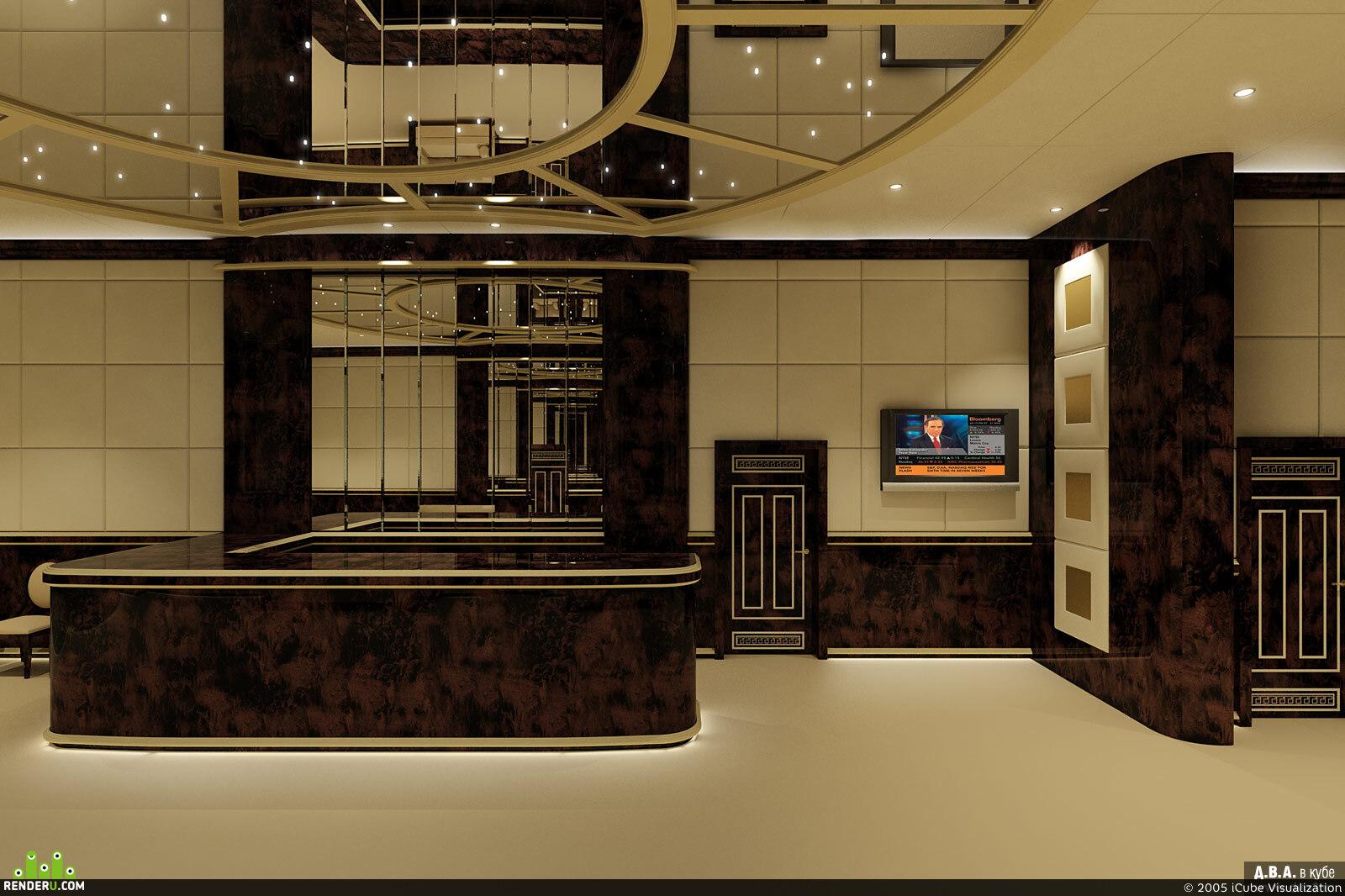 preview Дизайн проект входной группы в офисное здание (Вариант 1)