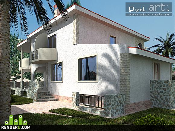 preview Индивидуальный жилой дом на о. Кипр