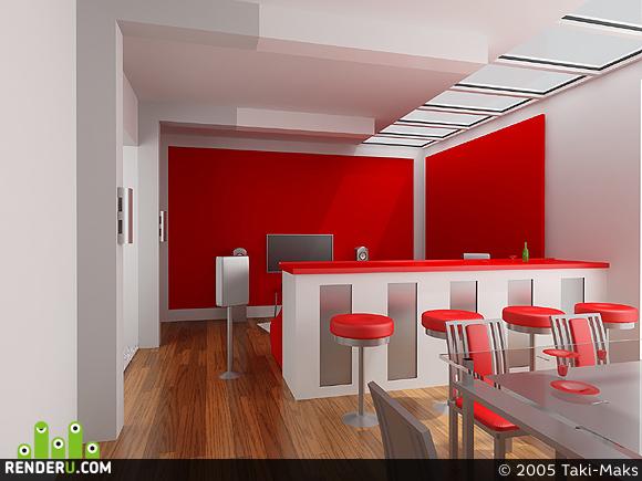 preview Красная столовая