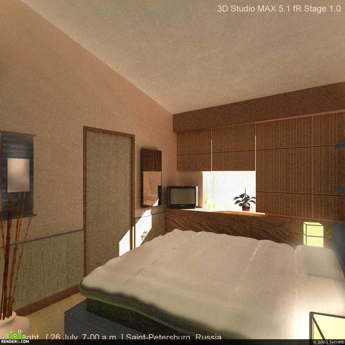 preview Спальня под восток