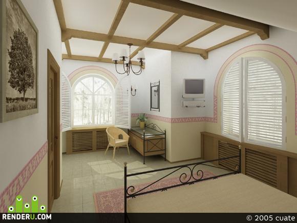 preview загородный дом. спальня