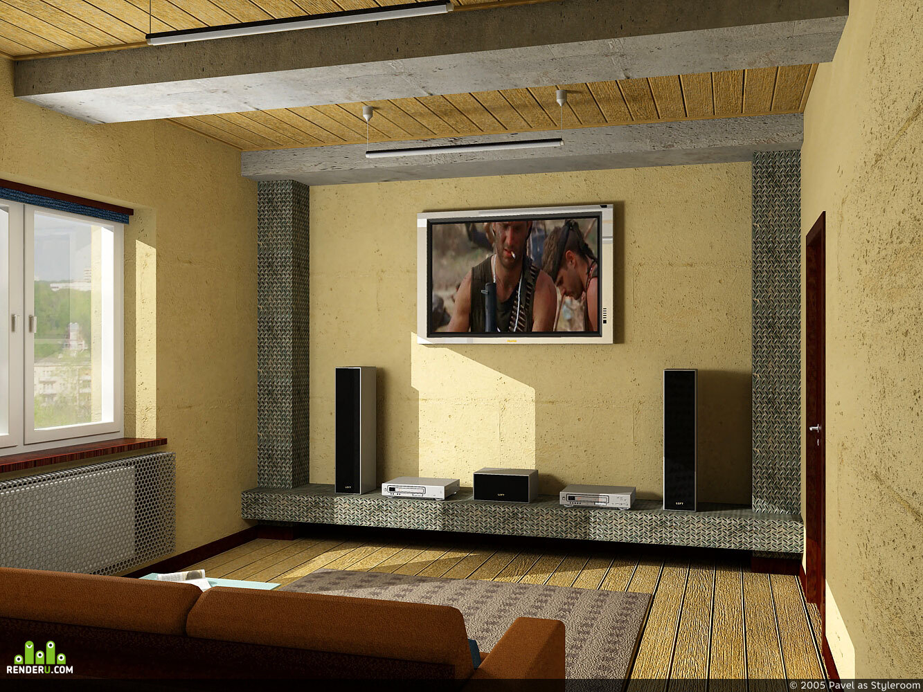 preview Loft кинозал