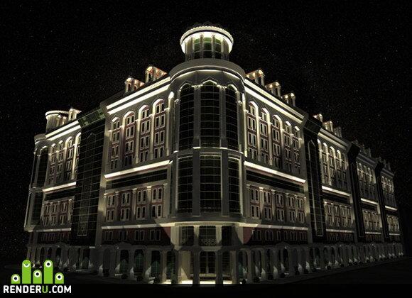 preview jiloy dom v sentre gorod Baku
