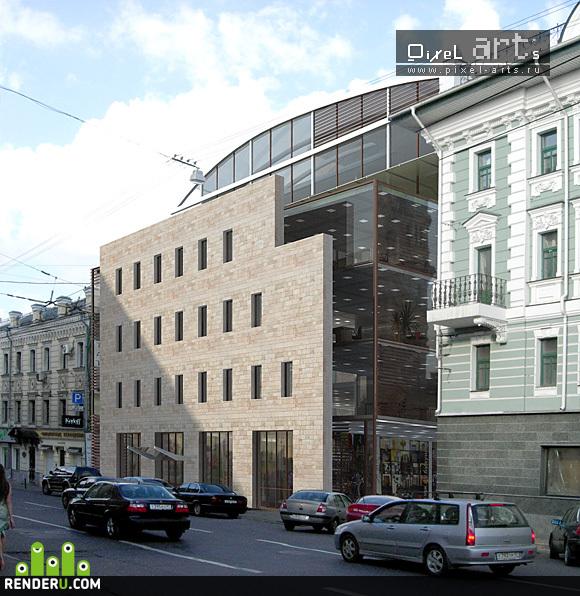 preview Офисный центр на ул. Б. Лубянка