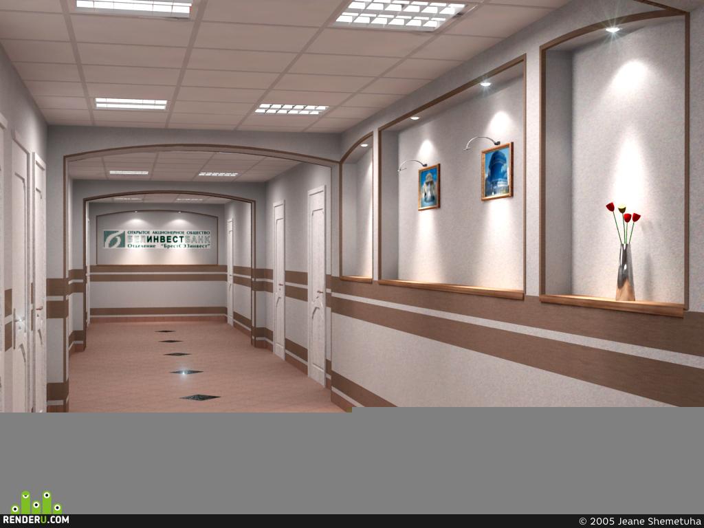 preview коридор в банке