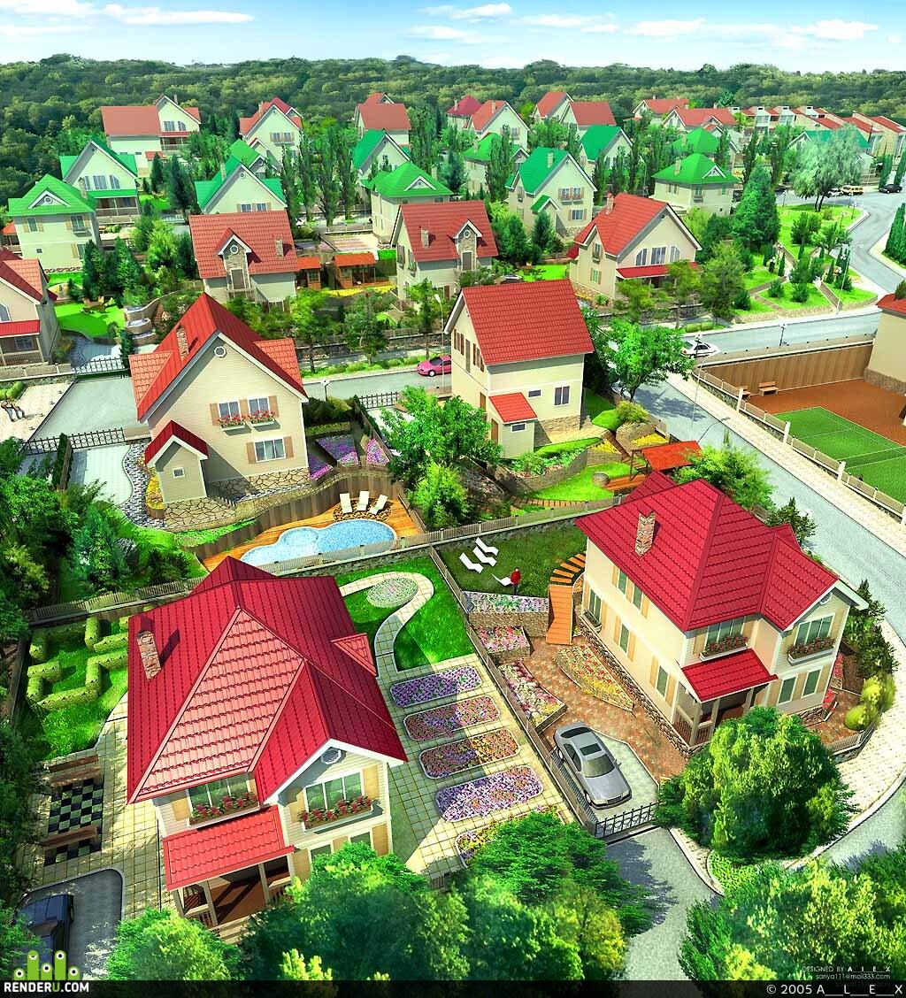 preview Коттеджный поселок Радово1