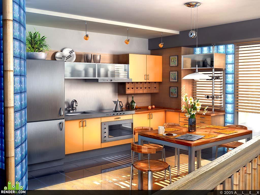 preview Квартира Кухня