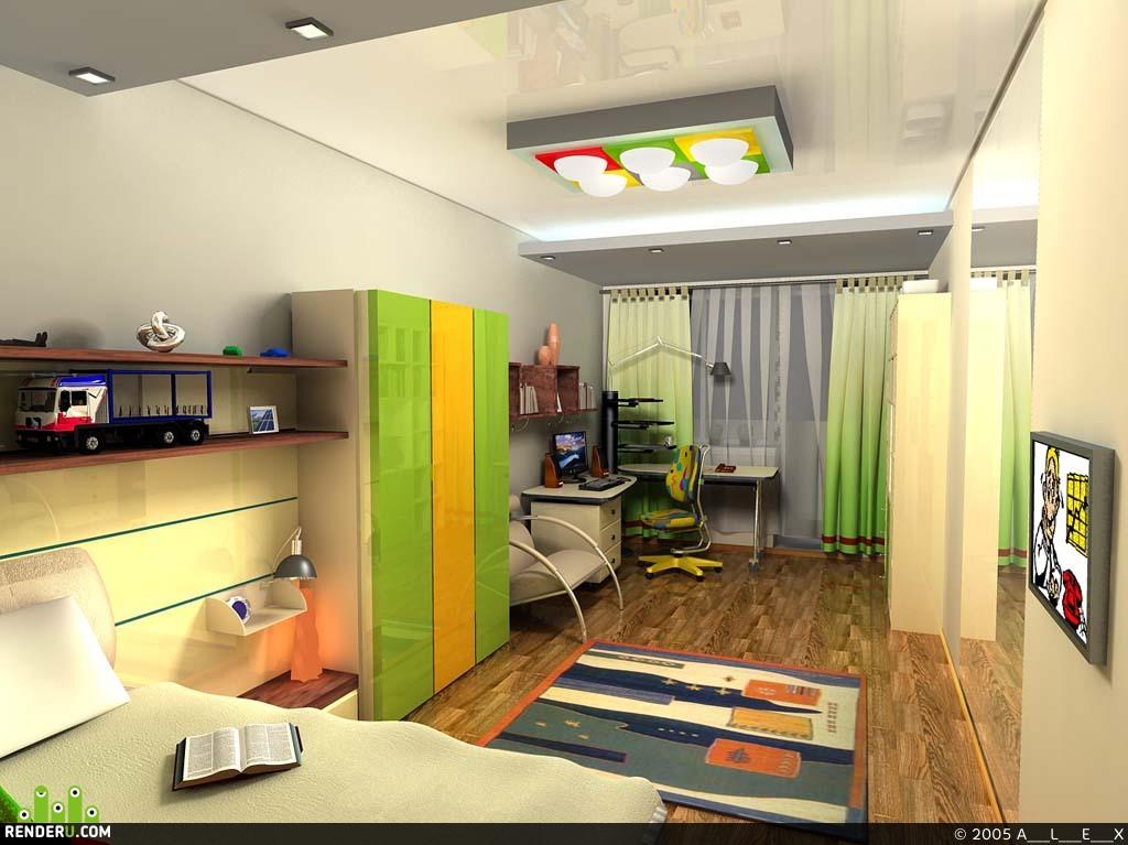 preview Квартира1 детская