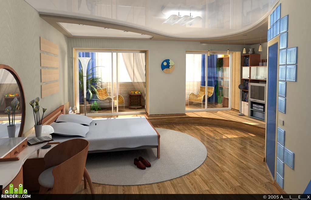 preview Квартира Спальня