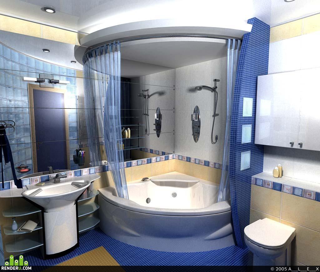 preview Квартира Ванная