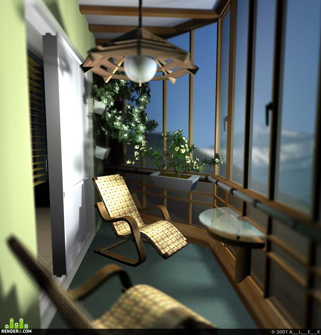 preview Квартира2 Лоджия