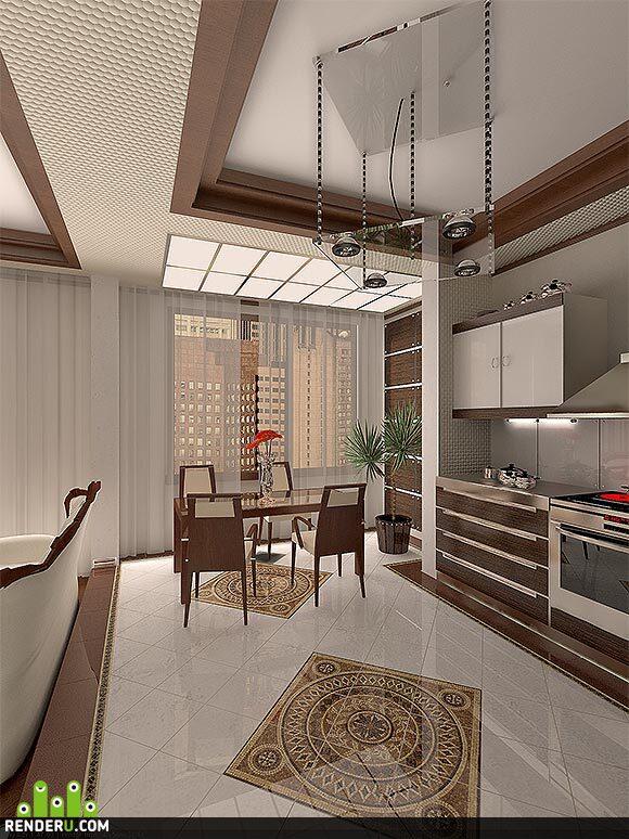 preview столовая+кухня