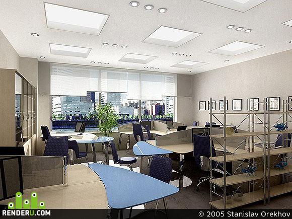 preview офисные помещения. 3 варианта.