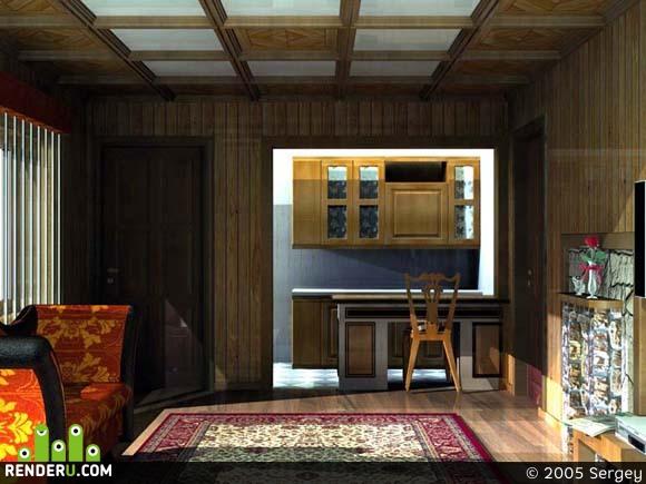 preview Комната отдыха в сауне