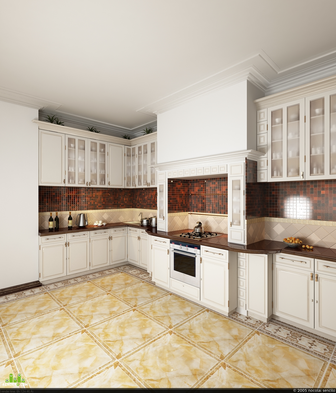 preview белая кухня классика