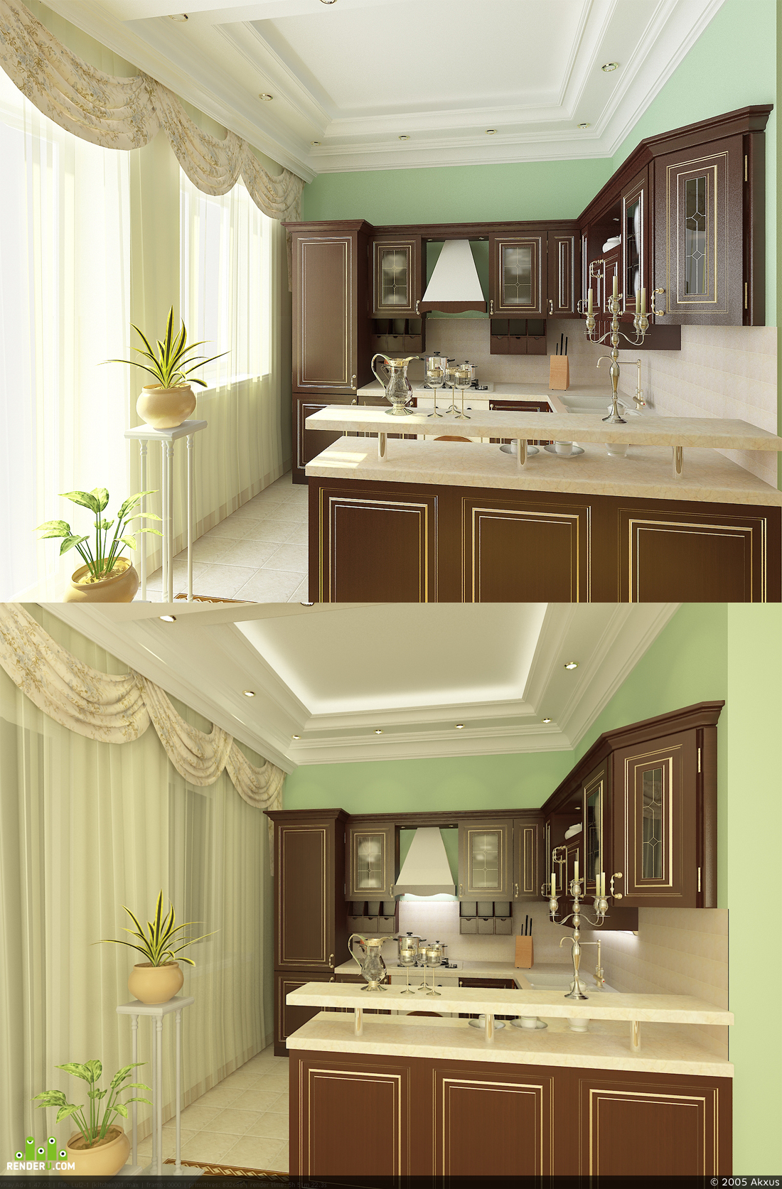 preview Iterior of Kitchen
