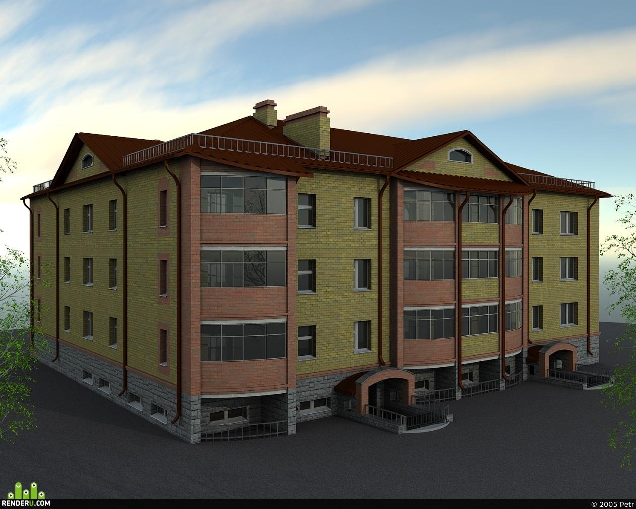 preview Жилой дом с конторами